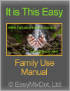 Save Water. Manual for Family Use